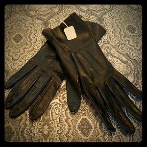 Women's Vintage Leather Gloves